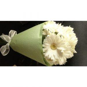 White Gerberas Bouquet Delivery Melbourne