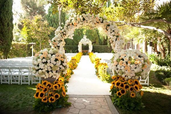 Garden Flower Arch for Wedding Melbourne