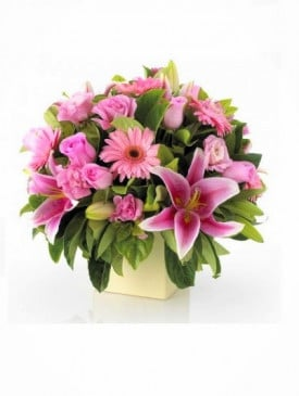 Mother's Day Pink Flower Arrangement
