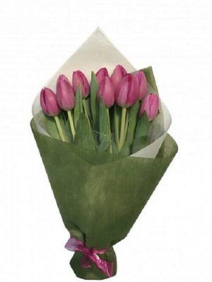 Pink Tulip Bunch Online Melbourne