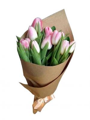 Order Pink Tulip Bunch Online