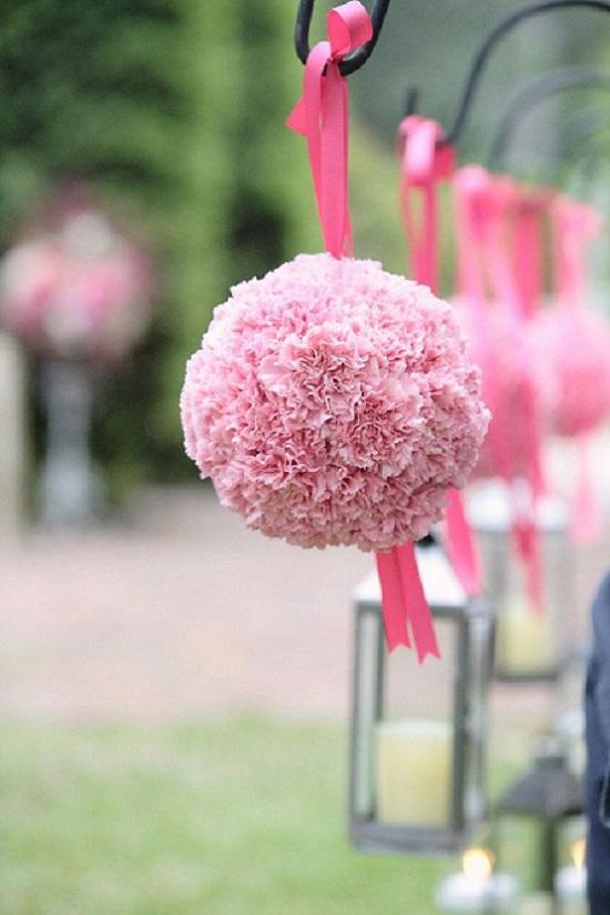 Hanging Carnation Pomanders