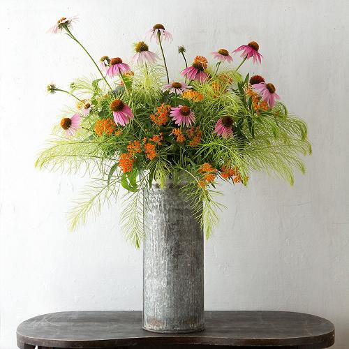Rustic Charm Flower Arrangement
