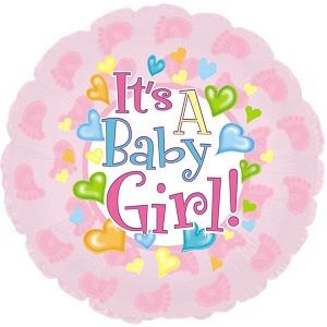 Foil Balloon for Baby Girl
