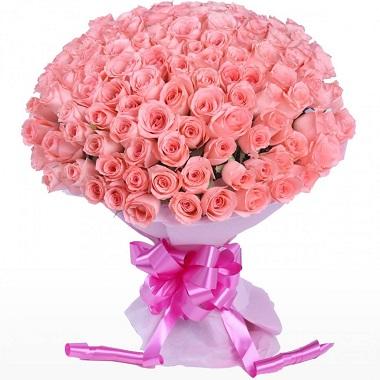 Buy Pink Roses Bouquet Melbourne