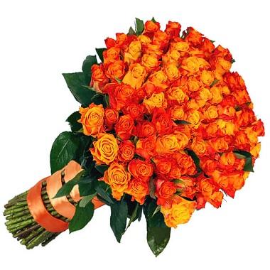 Order Orange Roses Bouquet Online Melbourne