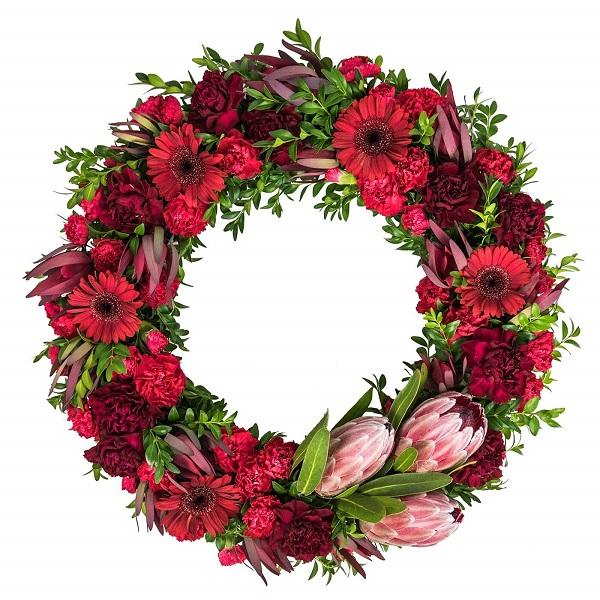 Gerberas Wreath for Anzac Day Melbourne