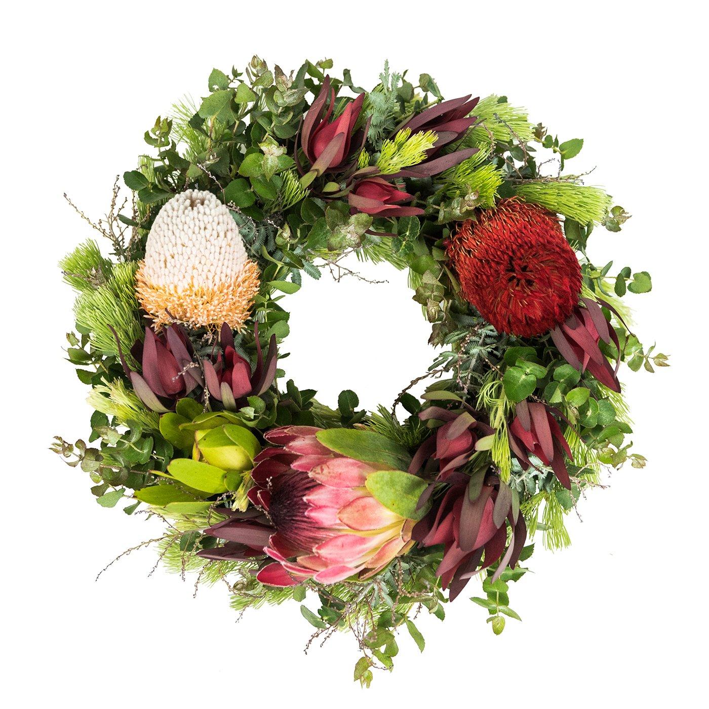 Native Anzac Day Wreath