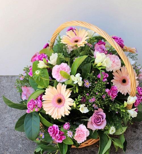 Buy Online Beautiful Purple Birthday Basket Delivery Melbourne