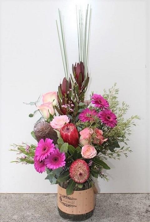 Australian Native Flowers Jar Arrangements Melbourne