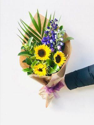 Send Sunflower Loving Bouquet