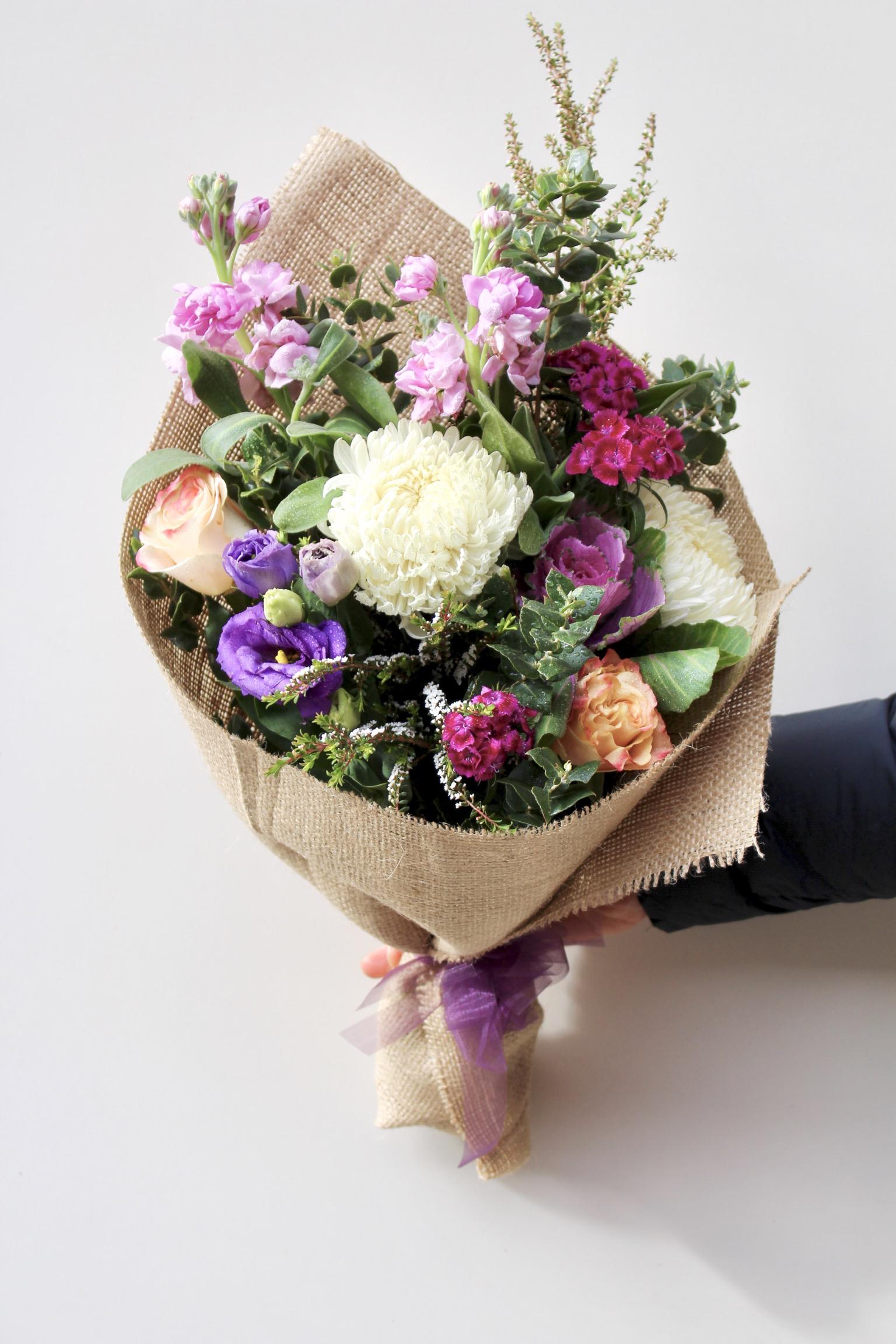 Send WINTER CHARM Flower bouquet Melbourne