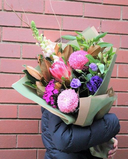 Apology Native Flower Bouquet Melbourne