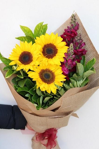 Order Sunflowers Bouquet for Leo Zodiac Melbourne
