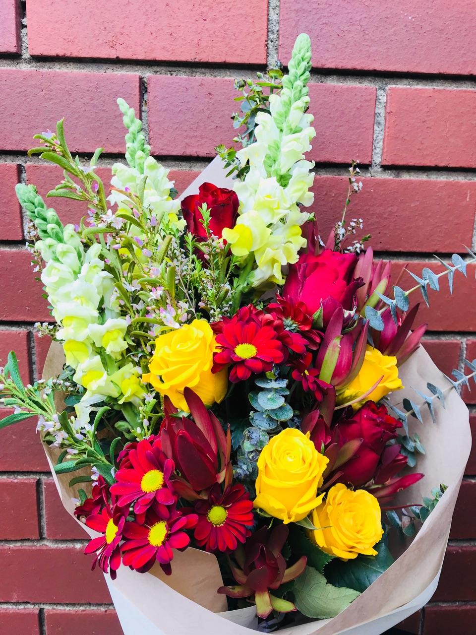 Large Bright Flowers Arrangement