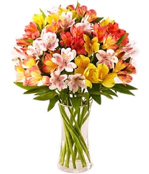 Mother's Day Alstroemeria Flower Arrangement
