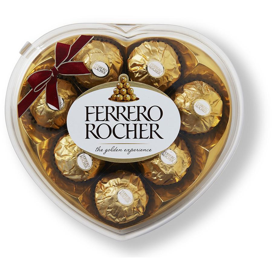Ferrero Rocher Heart Shape Box - 8 Piece