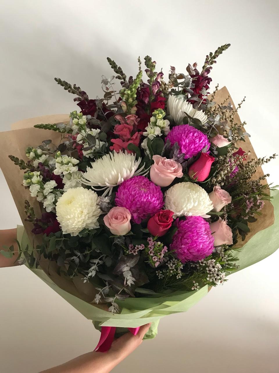 Graceful Mix Flowers Bouquet