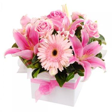 Order Soft Bliss flower bouquet online Melbourne