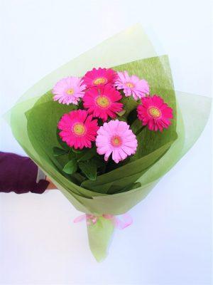 Send Lovely Pink Gerbera Bouquet Online in Melbourne