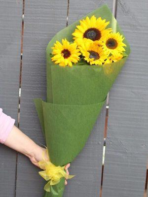 Sunflower Bouquet Delivery Melbourne