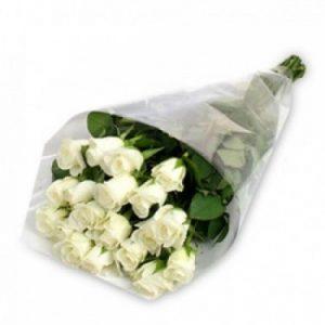 Online Premium White Roses Bouquet Melbourne