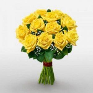 Online Yellow Roses Bouquet Melbourne