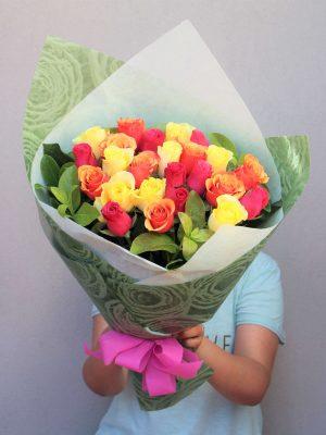 24 Mix Roses Bouquet