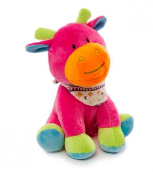 Bright Giselle Giraffe Hot Pink