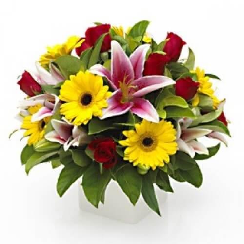 Order Bright Floral Arrangement Melbourne
