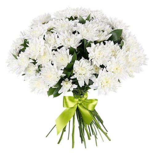 Sympathy Chrysanthemum Bouquet Online Delivery Melbourne