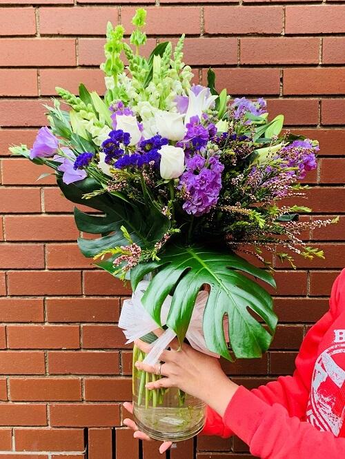 Flower Vase Arrangement Melbourne