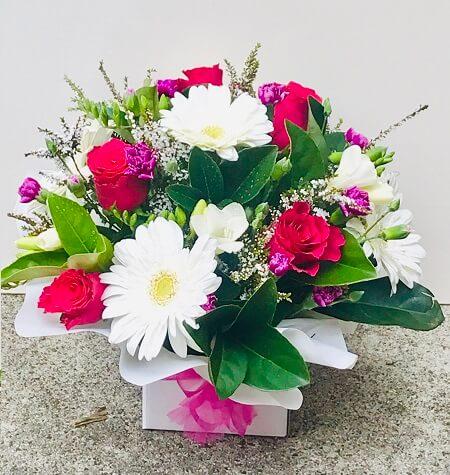 Order Halloween Flower Box Arrangement
