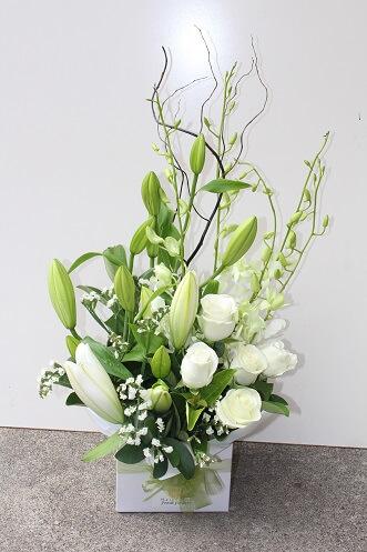 Online Lilies Box Arrangement Delivery Melbourne