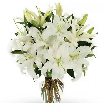 Lilies Vase Arrangement