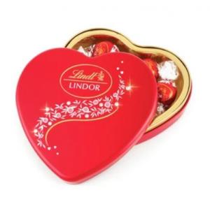Lindor Lindt Heart Shape Box - 147gm