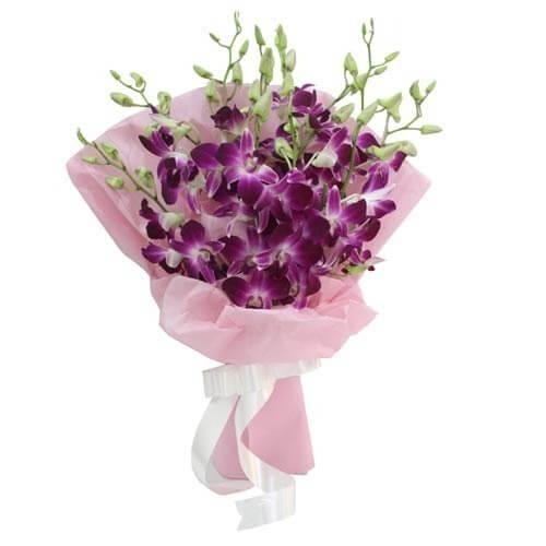 Order Orchid Flower Bouquet Delivery Melbourne