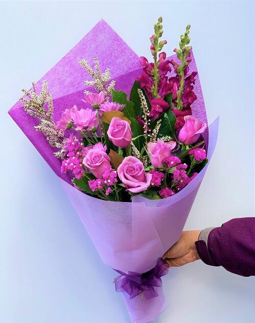 Locally Grown Flower Bouquet Melbourne