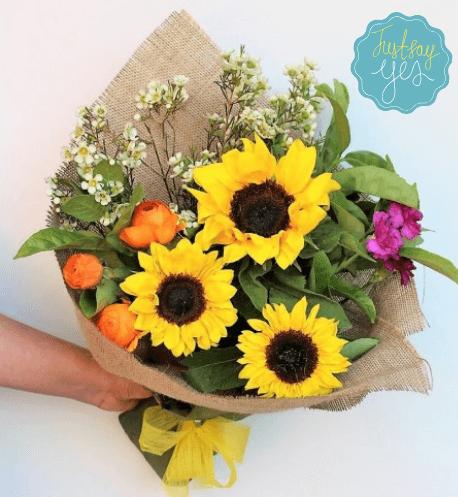 Order Sunflower Bouquet Online Delivery Melbourne