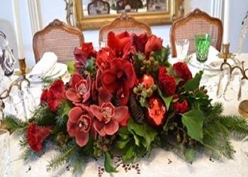 Christmas Flowers Decoration