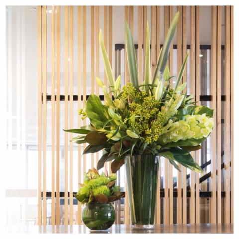 Office Flower Vase Arrangement South Yarra