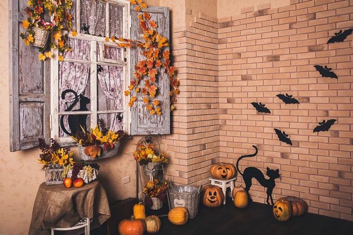 Halloween Stairs Wall