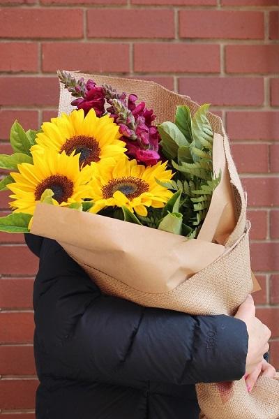 Order Sunflower Bouquet Online Melbourne