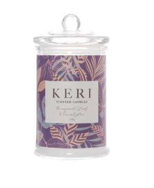 Scented Jar Candle Eden Bergamot Leaf & Eucalyptus