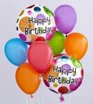 Happy Birthday Balloons Bouquet