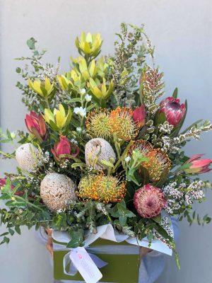 Classic Native Flower Box Arrangement