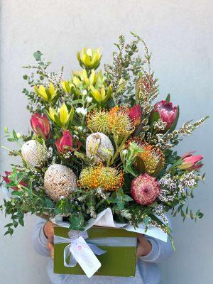 Order Classic Native Flower Box Arrangement